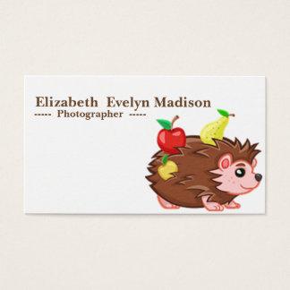 baby hedgehog 790 business card
