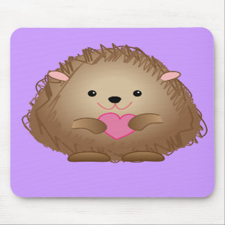 baby hedgehog mousepad