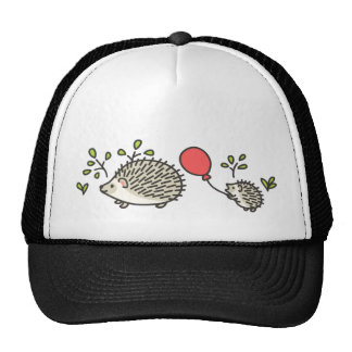 Baby Hedgehog's Red Balloon Trucker Hat