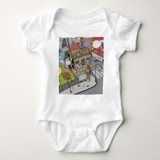 Baby hip Hop City Baby Bodysuit