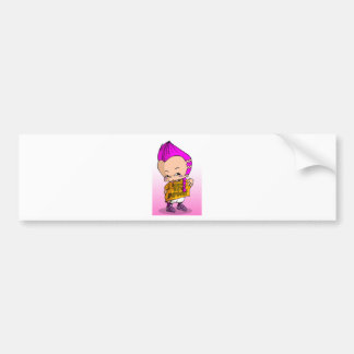 Baby Hip Hop Lil Bumper Sticker