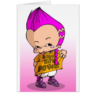 Baby Hip Hop Lil Greeting Card