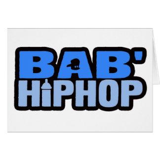 Baby Hip Hop Logo Five Cards