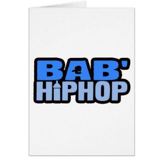 Baby Hip Hop Logo Five Greeting Cards