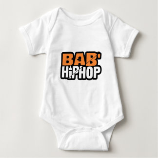 Baby hip Hop Logo One Baby Bodysuit