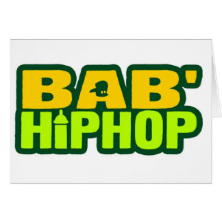 Baby Hip Hop Logo Six Greeting Cards
