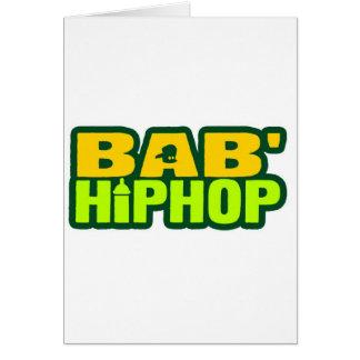 Baby Hip Hop Logo Six Cards