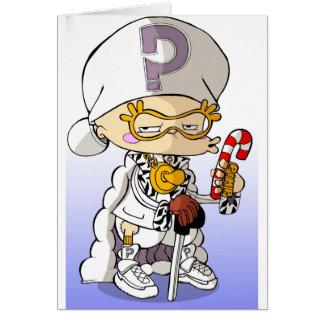Baby Hip Hop Pimp Card