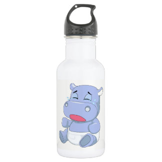 Baby Hippo Crying 532 Ml Water Bottle
