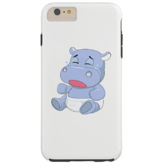 Baby Hippo Crying Tough iPhone 6 Plus Case