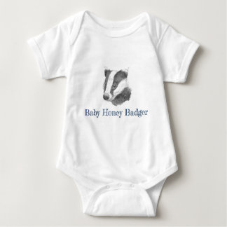 Baby Honey Badger Baby Bodysuit