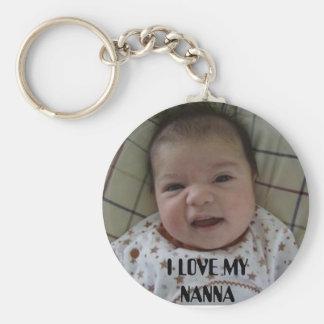 baby, I LOVE MY NANNA Keychain