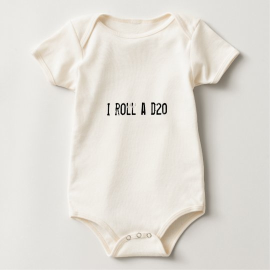 Baby - I roll a d20 Baby Bodysuit