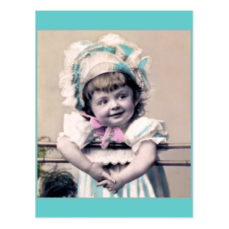 Baby in a Bonnet Post Card