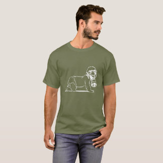 Baby In Gas Mask T-Shirt