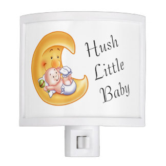 Baby in the Moon Nite Lite