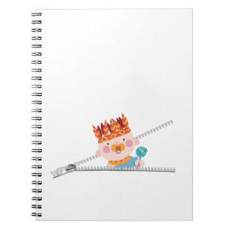 Baby Indian pregnancy thanksgiving Spiral Notebook