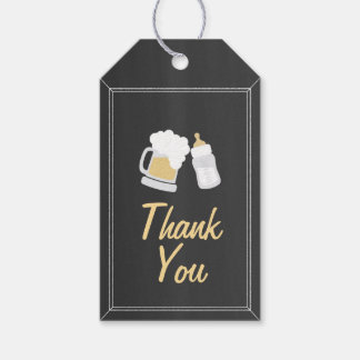 """Baby Is Brewing"" Thank You Gift Tags"