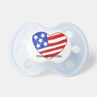 Baby is Made in the USA - Flag Pacifier