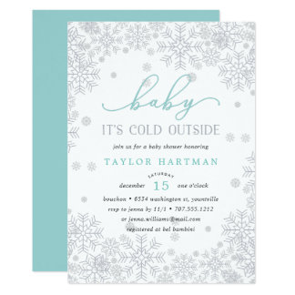 Baby It's Cold Outside | Baby Shower Invitation