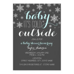 Baby it's Cold Outside - Boy Baby Shower Invite