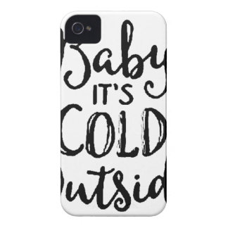 Baby it's Cold Outside Case-Mate iPhone 4 Cases