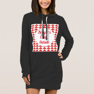Baby it's cold outside casual dress