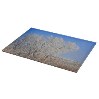 Baby It's Cold Outside Cutting Board Landscape