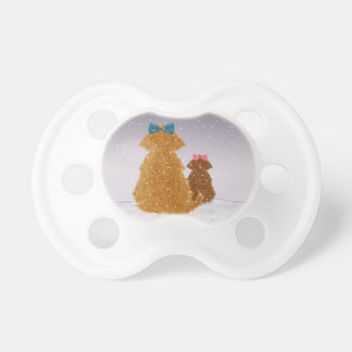 Baby it's cold outside pacifiers