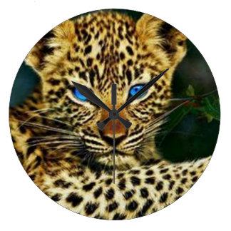 Baby Jaguar Wall Clock