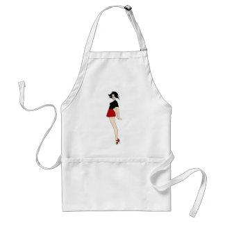 Baby Jane Pin Up Girl Standard Apron