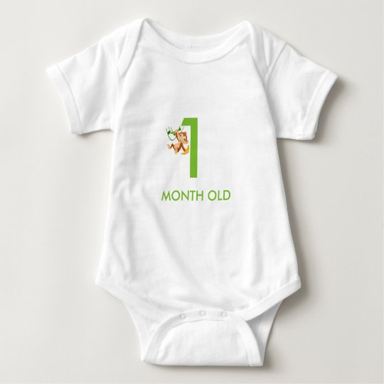 BABY JERSEY BODYSUIT 1MONTH OLD