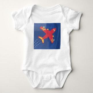 Baby Jersey Bodysuit Aeroplane Aircraft Travel Kid
