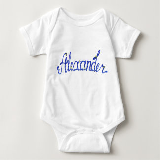 Baby Jersey Bodysuit Alexander