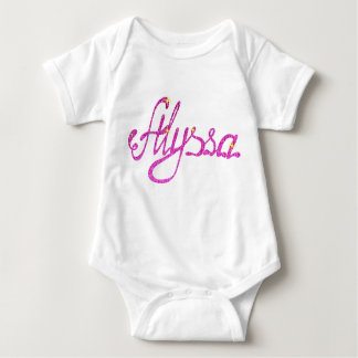 Baby Jersey Bodysuit Alyssa