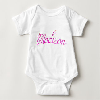 Baby Jersey Bodysuit Madison