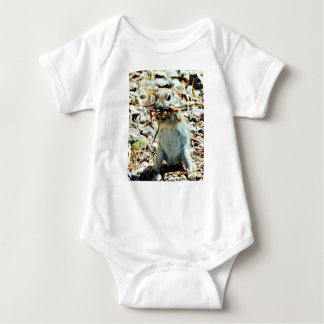 Baby Jersey Bodysuit of Mikey the Ground Squirrel