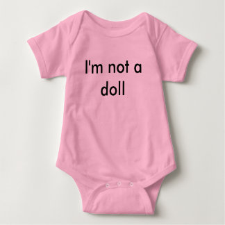 Baby Jersey Bodysuit, Pink Baby Bodysuit