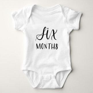 Baby Jersey Bodysuit - Six Months