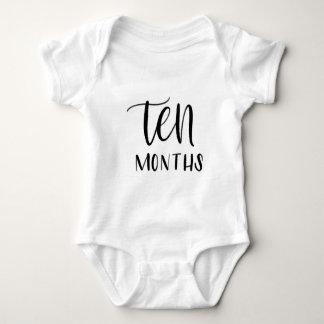 Baby Jersey Bodysuit - Ten Months