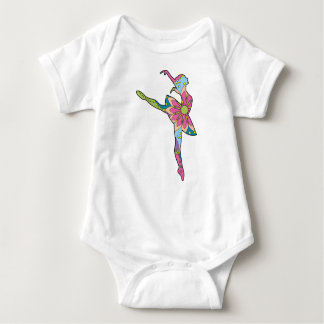 Baby Jersey Bodysuit with ballet dancer