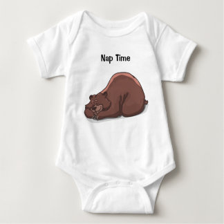 Baby Jersey 'Nap Time' Bodysuit