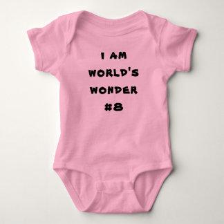 Baby Jersey Romper Iam s wonder#8, winks world