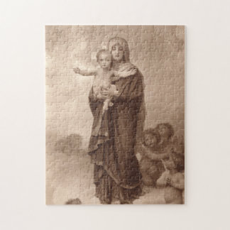 Baby Jesus and Mother Mary Jigsaw Puzzle