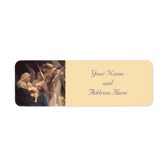 Baby Jesus Christmas Labels