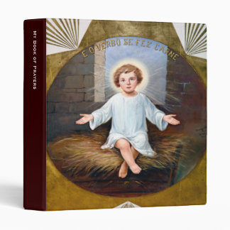 Baby Jesus decorative artwork Vinyl Binders