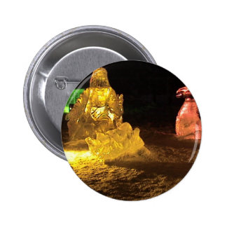 Baby Jesus in ice 2 Inch Round Button