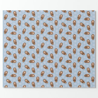 Baby Jesus wrapping paper