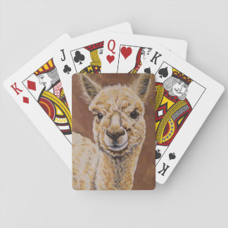 Baby Jewel, Alpaca Playing Cards