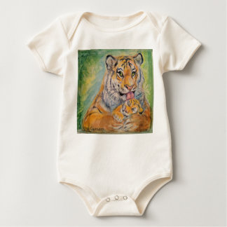 Baby Jumper with Tigers Baby Bodysuit